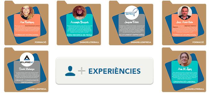 Coneix les experiencies de les persones usuàries al nostre servei