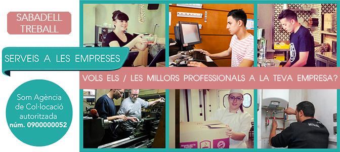 SabadellTreball: Serveis a les empreses